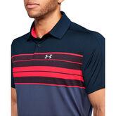 Alternate View 3 of Vanish Chest Stripe Men's Golf Polo Shirt