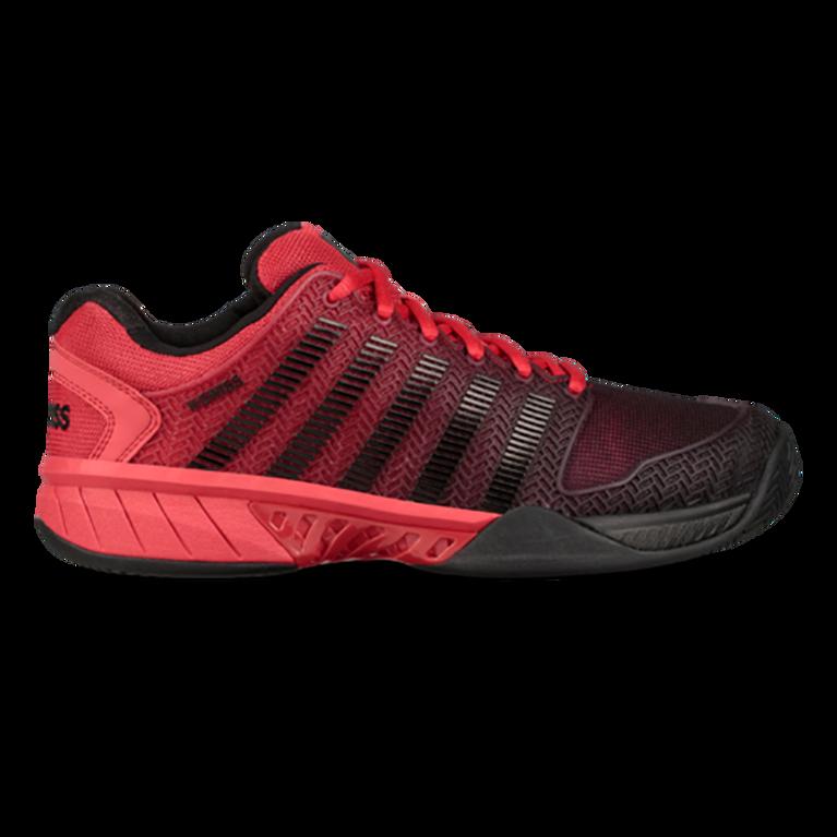 Hypercourt Express Men's Tennis Shoe - Black/Red