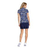 Alternate View 3 of Aspen Ray Collection: Neve Ditsy Daisy Print Short Sleeve Top