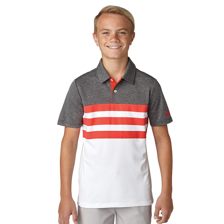adidas Boys' 3-Stripes Polo
