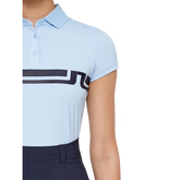 Alternate View 1 of Short Sleeve Orla Chest Stripe Jersey Polo