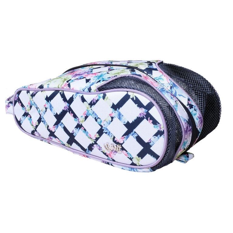 Pastel Lattice Shoe Bag