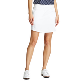 Alternate View 1 of Solid Perforated Stretch Golf Skort