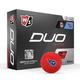 DUO Optix NFL Golf Balls - Tennessee Titans