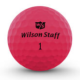 Alternate View 2 of Wilson Staff DUO Soft Optix Pink Golf Balls - Personalized