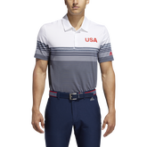 Alternate View 2 of USA Golf Ultimate365 Stripe Polo Shirt