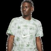 Alternate View 1 of NikeCourt Men's Tie-Dye Swoosh Tennis T-Shirt