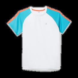 Boys Core Shoulder Striped Short Sleeve Polo