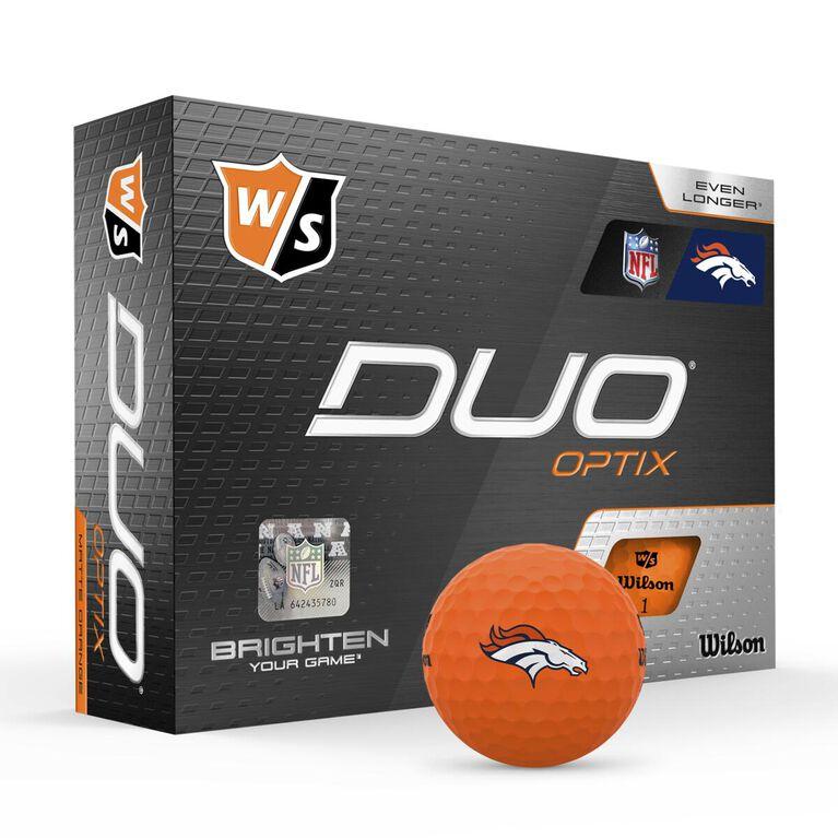 DUO Optix NFL Golf Balls - Denver Broncos