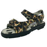 Alternate View 1 of Two Strap Women's Spikeless Golf Sandal - Leopard