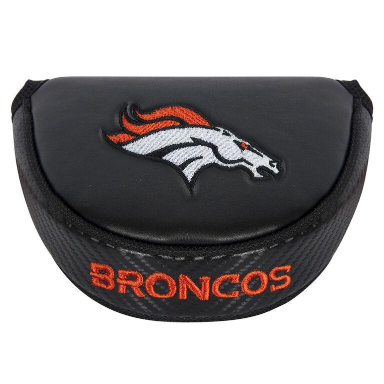 Team Effort Denver Broncos Black Mallet Putter Cover