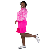 """Alternate View 2 of Rojito Collection:  Knife Pleat 15"""" Golf Skort"""