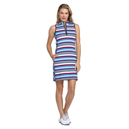 Italian Holiday Collection: Danville Sleeveless Striped Dress