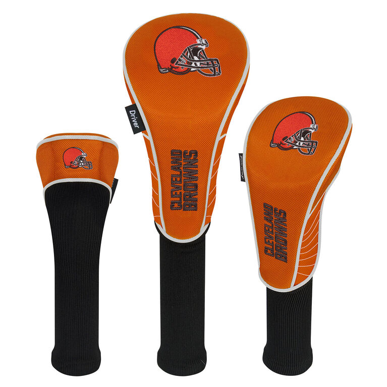 Team Effort Cleveland Browns Set of 3 Headcovers