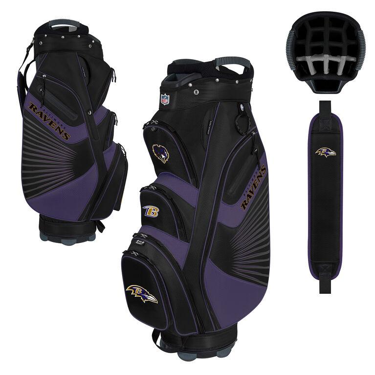 NFL Baltimore Ravens Bucket II Cooler Cart Bag