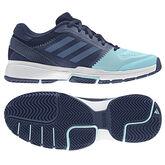 adidas Barricade Club Women's Tennis Shoe - Navy/Blue