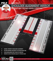 Dave Pelz's Shoulder Alignment Mirror