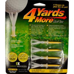 "4YardsMore Yellow 2 3/4"" Tees - Assorted"
