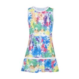 Tie Dye Girls' Sleeveless Tennis Dress