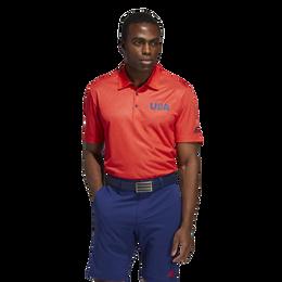 USA Printed Golf Polo Shirt