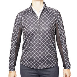 Pebble Beach Printed Quarter Zip
