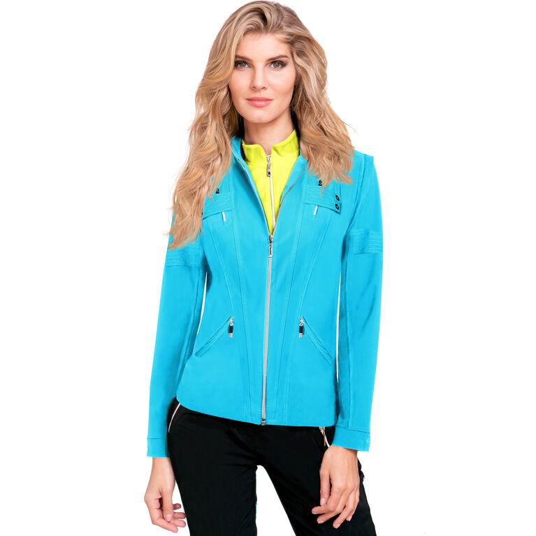 Casa Collection: Airwear Zip Off Sleeve Full Zip Jacket