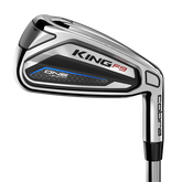 King F9 Silver/Black 5-PW, GW One Length Iron Set w/ Steel Shafts