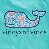 Vineyard Vines Floral Whale Tee