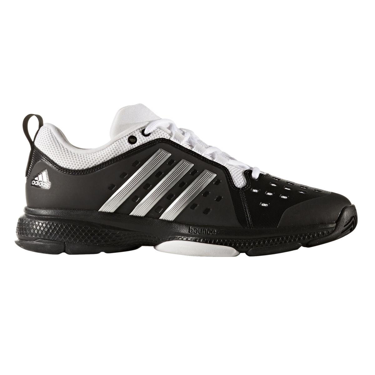 hot sale online dccf2 dc63f Images. adidas Barricade Classic Bounce Men  39 s Tennis Shoe - Black Silver