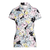 Alternate View 4 of Short Sleeve Floral Print Sustainable Polo Shirt