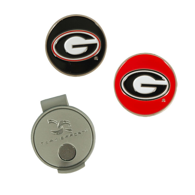 Team Effort Georgia Bulldogs Hat Clip