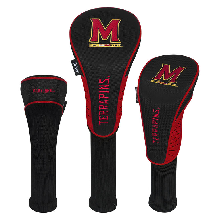 Team Effort Maryland Terrapins Headcover Set of 3