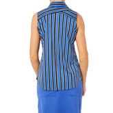 Alternate View 4 of Biltmore Collection: Regency Stripe  Sleeveless Top