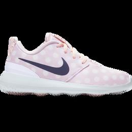 Roshe G Junior Golf Shoe - Pink/White