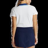 Alternate View 4 of Short Sleeve Contrast Collar Piqué Polo Shirt