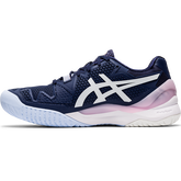 Alternate View 1 of GEL RESOLUTION 8 Women's Tennis Shoes - Navy/White