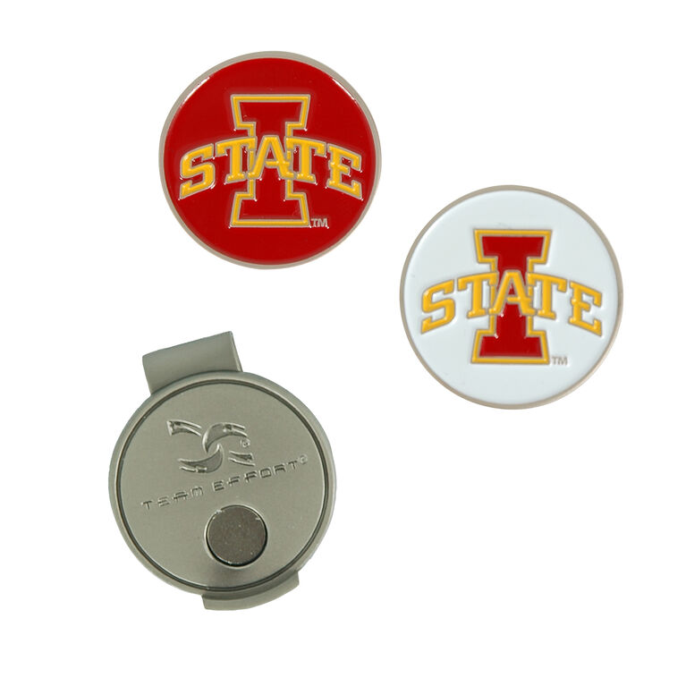 Team Effort Iowa State Cyclones Hat Clip