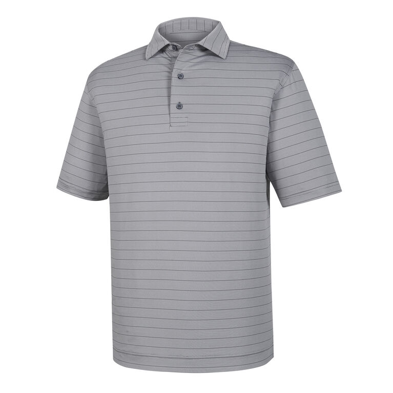 End on End Lisle Self Collar Polo