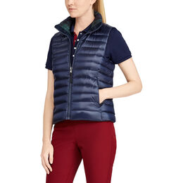 RLX Golf Reversible Quilted Down Vest