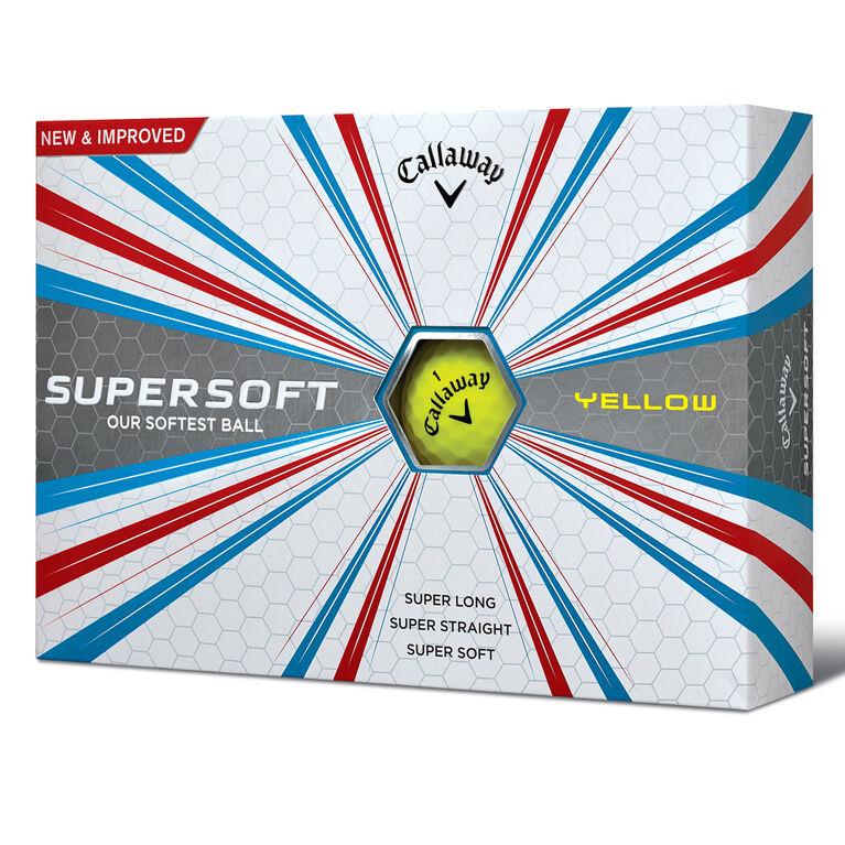 Callaway SuperSoft Golf Balls - Yellow