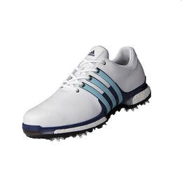 adidas TOUR 360 2.0 Men's Golf Shoe - White/Blue