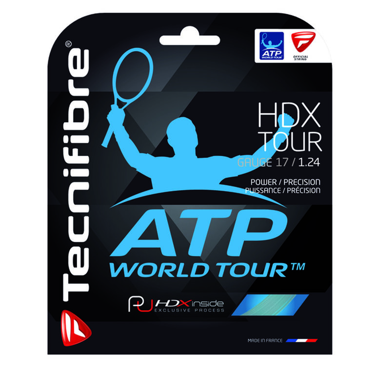 Tecnifibre HDX Tour 17 Gauge String Set - Natural