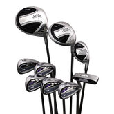 DTP Women's 9-Piece Golf Club Set