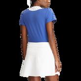 Alternate View 2 of Eyelet Collar Short Sleeve Golf Shirt
