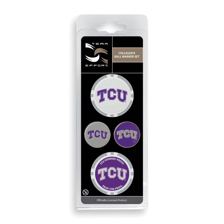 Team Effort TCU Ball Marker