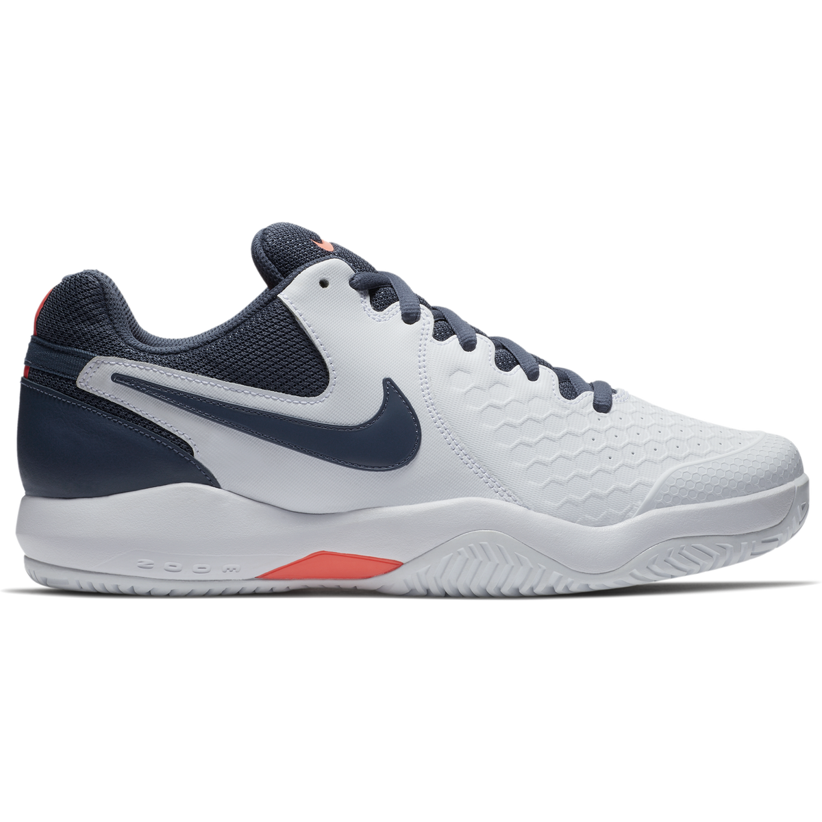 e4c47a4fb42c Nike Air Zoom Resistance Men s Tennis Shoe - White Blue