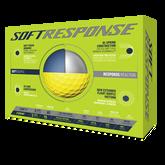 Alternate View 1 of Soft Response Yellow Golf Balls