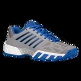 K-Swiss Bigshot Light 3 Men's Tennis Shoe - Grey/Blue