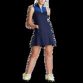 Alternate View 2 of Sleeveless Colorblock Golf Dress