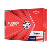 Alternate View 1 of Chrome Soft Truvis USA Golf Balls